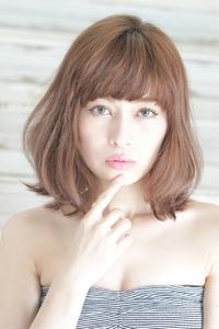 ohana発☆大人の色気を感じさせるミディアムボブ☆