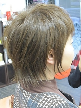 おとなショート|髪質改善ヘアエステサロン La fonteのヘアスタイル