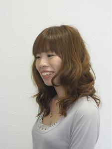 ゆるふわパーマ 髪質改善ヘアエステサロン La fonteのヘアスタイル