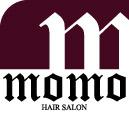 momo  | モモ  のロゴ