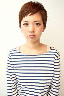 ブリティッシュショート|momoのヘアスタイル