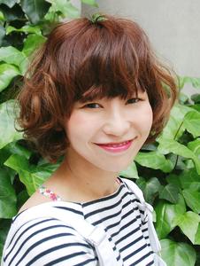 【MRK】無造作パーマでキメすぎない可愛さ★アレンジも◎|MRK Hair & Makeのヘアスタイル