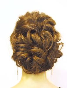 【MRK】大人可愛いルーズアップスタイル ランダムカール☆|MRK Hair & Makeのヘアスタイル