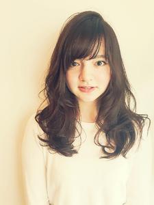 MRK♪アンニュイカールロング☆大人かわいいマーメイドアッシュ|MRK Hair & Makeのヘアスタイル