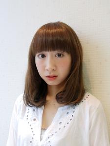 ☆大人かわいいふわミディ☆ナチュラルベージュカラー|MRK Hair & Makeのヘアスタイル