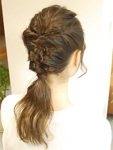 【MRK】編み込みカジュアルアップ★|MRK Hair & Makeのヘアスタイル