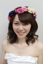 bridal 2|Me Ka Mahalo Pauoleのヘアスタイル