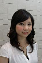 ふんわりTOPで小顔◎のナチュラルSカールパーマ Reve aki☆ のヘアスタイル