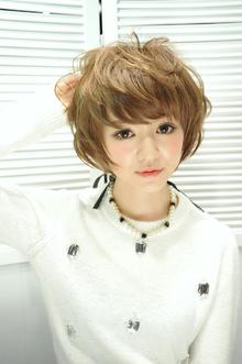 『Luce Hair design』 エアリーモテショート (宮原名央)|Luce Hair designのヘアスタイル