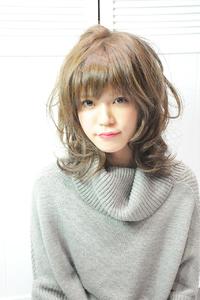 『Luce Hair design』 リラクシーレイヤー (宮原名央)