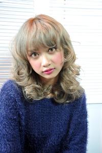 『Luce Hair design』外国人風ミルクティーベージュ♪