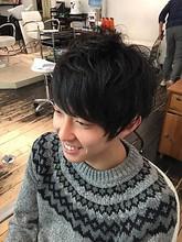 爽やかショートスタイル|hair make Peaceのメンズヘアスタイル