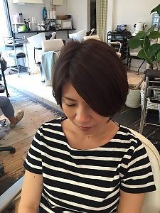 大人可愛いショートボブ|hair make Peaceのヘアスタイル