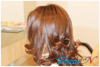 ふんわりカールスタイル♪|美容室 PassioN 志村三丁目店のヘアスタイル