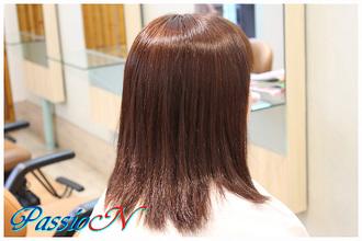 サラサラ☆ストレートヘア|美容室 PassioN 志村三丁目店のヘアスタイル