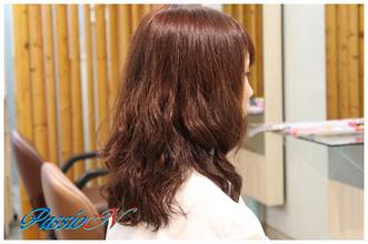 外人風♪ウェーブスタイル|美容室 PassioN 志村三丁目店のヘアスタイル