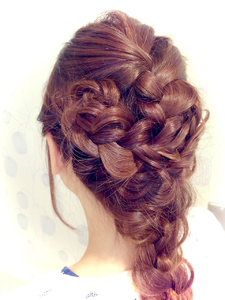 大人可愛いダウンスタイル|Favorite Hair Produce Fitのヘアスタイル