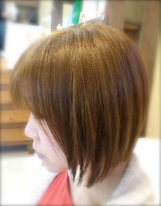 前下がりふんわりボブ|Favorite Hair Produce Fitのヘアスタイル