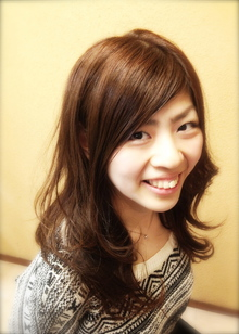 ゆる大人くびれカール|Favorite Hair Produce Fitのヘアスタイル