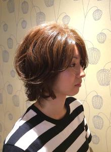 伸ばしかけ ショートボブ Favorite Hair Produce Fitのヘアスタイル