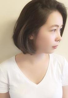 シアーBOB|hair lounge HOMEのヘアスタイル