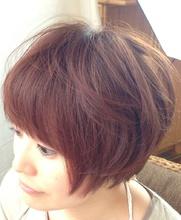 ふわふわショート|K's Hair 北習志野店のヘアスタイル