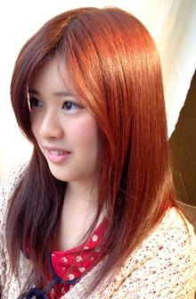 艶髪ミディー K's Hair 北習志野店のヘアスタイル
