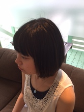 大人かわいいボブ|K's Hair 北習志野店のヘアスタイル