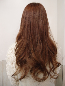 ナチュラル甘ロング K's Hair 北習志野店のヘアスタイル