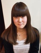 ナチュラルストレート☆|Anouk 東中野店のヘアスタイル