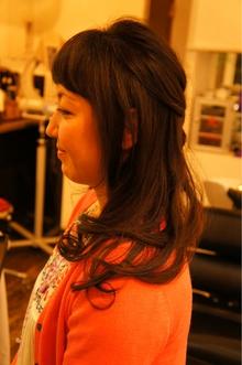 編みこみカール|Anouk 東中野店のヘアスタイル