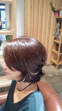 魅力のパーマ|fileveのヘアスタイル