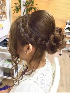 上品サイドアップ|Hair&Make ZEN 横浜店のヘアスタイル