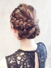 パーティや結婚式で楽しめる☆編み込みアレンジヘア