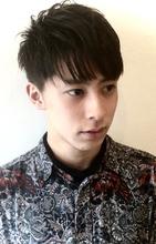 パーマなし☆束感ショートスタイル|The C by afloatのメンズヘアスタイル