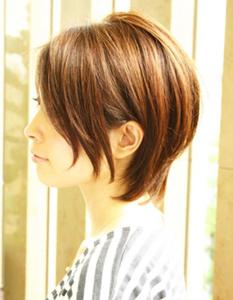 後頭部にボリューム☆360度キレイなショート|The C by afloatのヘアスタイル