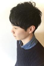 爽やかビジネスマン向けショートヘア|The C by afloatのメンズヘアスタイル