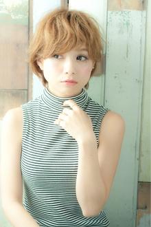 真木よう子風ナチュラルショート|LIBERTY-A 西大島店のヘアスタイル