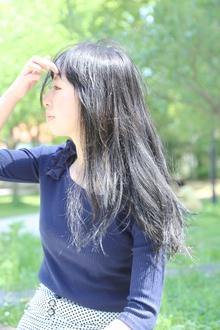 黒髪ロング|tittiのヘアスタイル