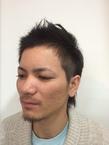 ソフトホヒ風ツーブロック|SLEEKのヘアスタイル