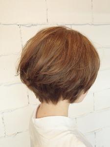 【ARISE 都立大学】サロンスタイル ナチュラルショートボブ|ARISEのヘアスタイル