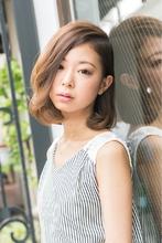 【ARISE 都立大学】サイドパートミディアムワンカール|ARISE 齋藤 豪のヘアスタイル