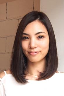 【ARISE 都立大学】ミディアムナチュラルボブ|ARISEのヘアスタイル