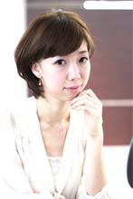 【ARISE 都立大学】ナチュラルショートボブ|ARISE 齋藤 豪のヘアスタイル