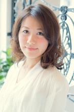 【ARISE 都立大学】大人かわいい パーマミディアム ARISE 赤坂 佑馬のヘアスタイル