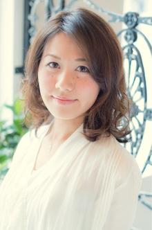 【ARISE 都立大学】大人かわいい パーマミディアム|ARISEのヘアスタイル