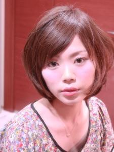 【ARISE 都立大学】ふんわりレイヤーボブ|ARISEのヘアスタイル
