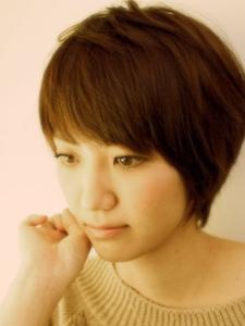 【ARISE 都立大学】すっきりシルエット スマートなショート|ARISEのヘアスタイル