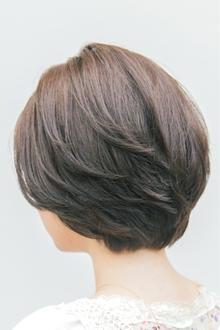 【ARISE 都立大学】自然な毛流れでエレガントに。レイヤーボブ|ARISEのヘアスタイル