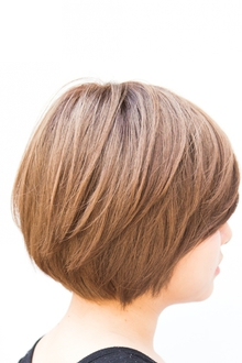 【ARISE 都立大学】頭を小さく!レイヤーマッシュボブ|ARISEのヘアスタイル